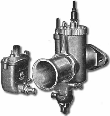 Molnor T3 Replica GP2 Carburettor Components